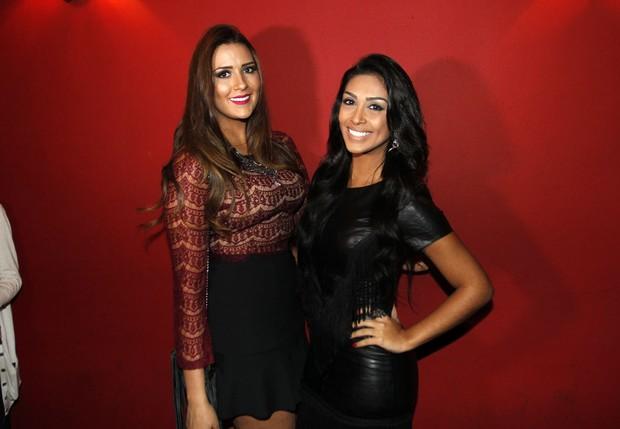 Ex-BBBs Amanda e Tamires (Foto: Celso Tavares/EGO)