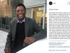 Pelé estreia no Instagram: 'deixe a bola rolar!'