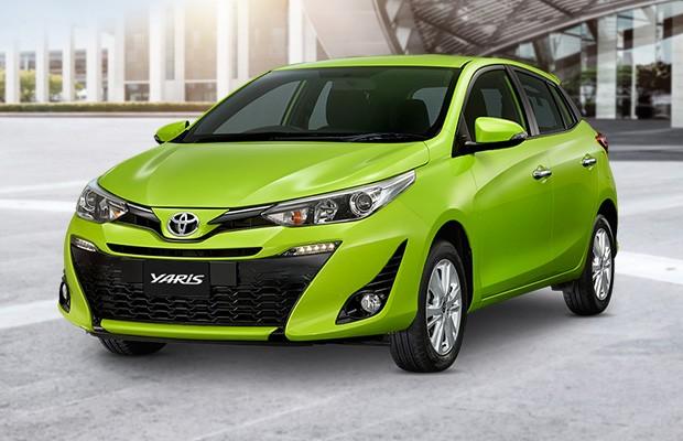 Toyota Yaris tailandês tem visual similar ao modelo que será feito no Brasil (Foto: Toyota)