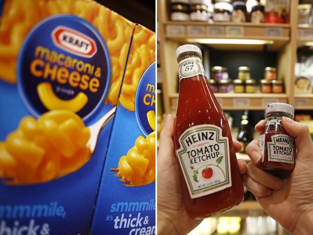 Empresas vão se juntar e a companhia resultante passa a se chamar The Kraft Heinz Company (Foto: Kim Hong-Ji/Jonathan Ernst/Reuters)