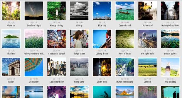 Picasa, serviço de fotos do Google. (Foto: Divulgação/Google)
