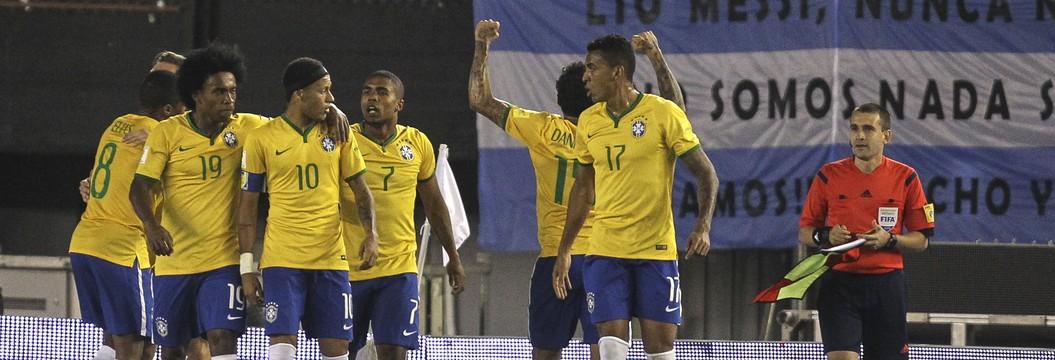Assista aos gols do empate em 1 a 1 entre Brasil e Argentina no Monumental (EFE)
