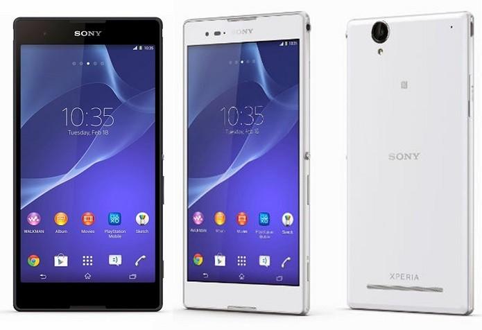 Xperia T2 Ultra é um foblet da Sony com tela de seis polegadas e Android 4.3 (Jelly Bean) (Foto: Divulgação/Sony)