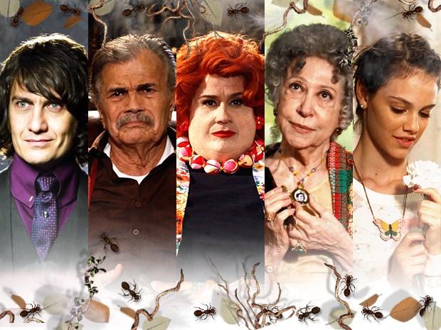 Os personagens de Saramandaia fazem coisas que ninguém acredita! (Foto: Saramandaia/TV Globo)