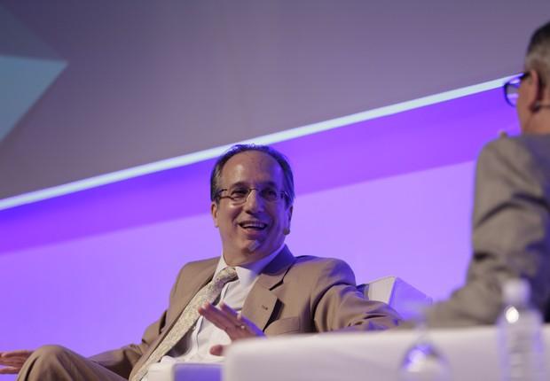 Leonardo Gryner, diretor geral da Rio 2016, durante o CEO Summit (Foto: Divulgação)