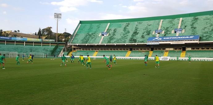 Guarani treino Brinco de Ouro (Foto: Gabriel Ferrari / Guarani FC)