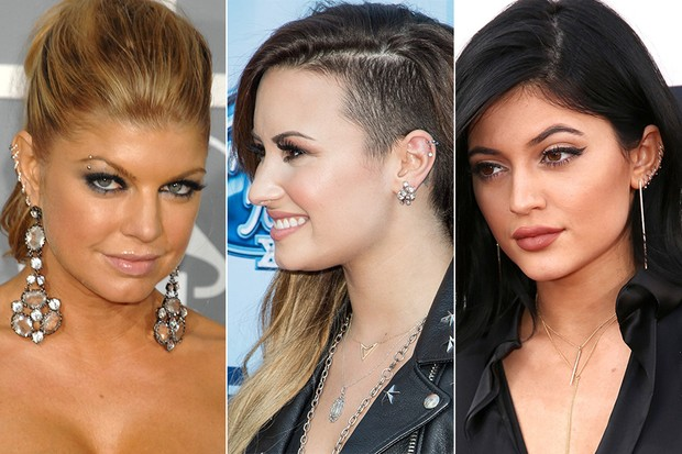 Fergie, Demi Lovato e Kylie Jenner (Foto: Getty Images / AFP)