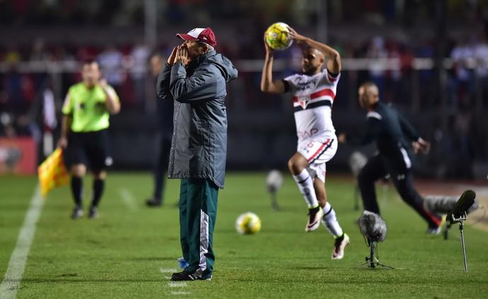 Levir Culpi São Paulo x Fluminense (Foto: Marcos Ribolli)
