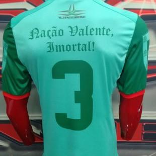 Portuguesa estreia camisa comemorativa ao título de Portugal f45b1e3a0a294
