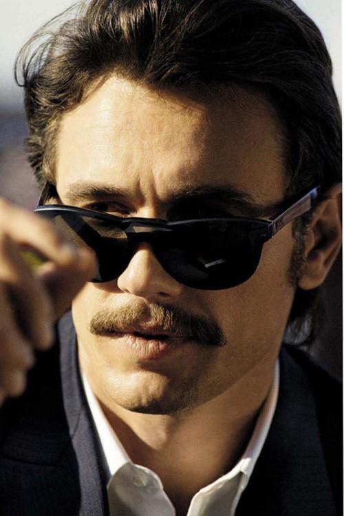 James Franco na GQ Itália (Foto: GQ Itália/Cedric Buchet)