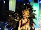 Rayanne Morais samba como Miss Rio de Janeiro antes de passar faixa