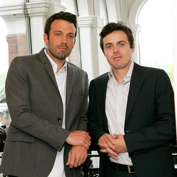 Ben e Casey Affleck (Foto: Getty Images)