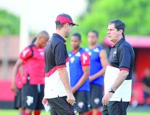 Artur Neto e Jairo Araújo (Foto: Wildes Barbosa / O Popular)