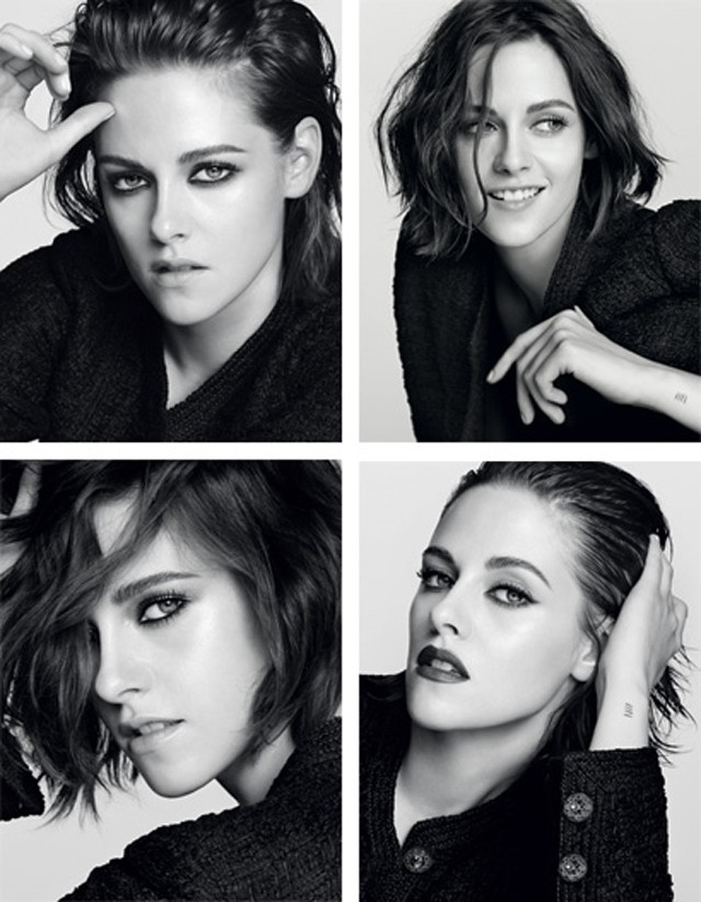 Kristen Stewart na campanha da Chanel (Foto: Divulgação)