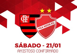 Vila anuncia amistoso com Flamengo em Goiânia (Foto: Divulgação/Vila Nova)