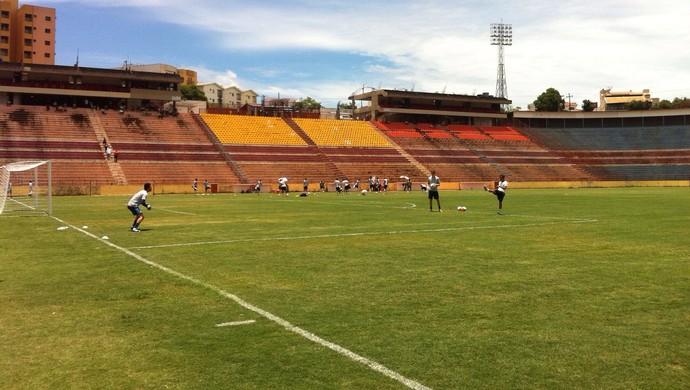 Estádio Teixeirão, em São José do Rio Preto (Foto: Marcos Lavezo)
