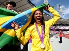 Com recorde mundial, Shirlene supera rivais e conquista o ouro (Patrcia Santos / CPB)