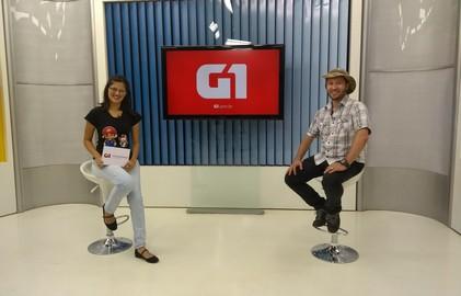 Mary Porfiro conversa com o biológo e youtuber Flávio Terassini