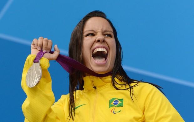 Edenia Garcia natação paralimpíadas 50m costas (Foto: Getty Images)