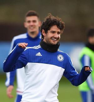 Pato Chelsea treino (Foto: Reprodução/Instagram)