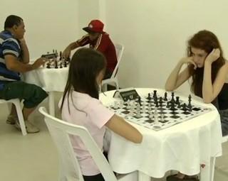 Três Rios sedia Campeonato Estadual de Xadrez no fim do mês (Foto: Reprodução RJTV 1ª Edição)
