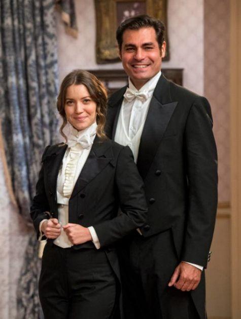 Nathalia Dill e Thiago Lacerda em 'Orgulho e paixão' (Foto: Estevam Avellar/TV Globo )