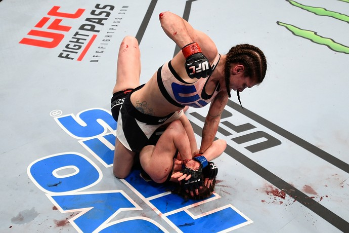 Lauren Murphy Kelly Faszholz UFC Pittsburgh MMA (Foto: Getty Images)