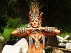 Veja mais fotos da ex-BBB Fabiana, que vai desfilar como Eva na Tom Maior