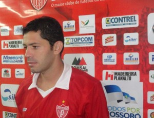 Roberto, goleiro do Potiguar de Mossoró (Foto: Marcelo Diaz/Divulgação)