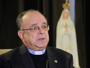 Dom Raymundo Damasceno, presidente da CNBB (Foto: Carlos Santos/G1)