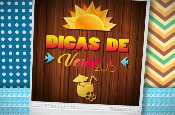 Logo Dicas de Verão RBS TV (Foto: Reprodução/RBS TV)
