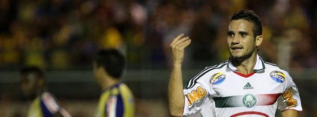 Maikon Leite gol Palmeiras (Foto: Cesar Greco / Ag. Estado)