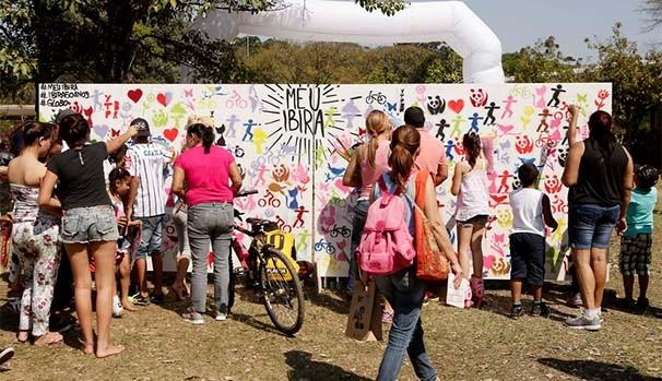 Meu Ibira volta ao Parque do Ibirapuera para levar diversão e lazer aos paulistanos (Foto: Globo)