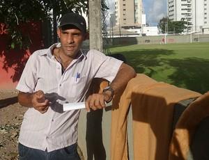 Anderson Silva - mascote do Sport (Foto: Lula Moraes / GloboEsporte.com)