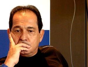 Muricy Ramalho durante entrevista (Foto: Sergio Gandolphi / Globoesporte.com)