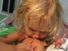 Carolinie Figueiredo posta foto fofa dos filhos: 'Homenagem à família linda'