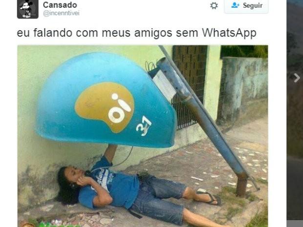 Meme Whatsapp (Foto: Reprodução/Twitter)