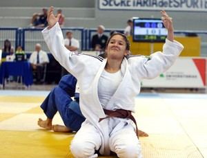 Rafaela Barbosa leva o ouro no judô das Olimpíadas Universitárias 2011 (Foto: Wander Roberto / Inovafoto)