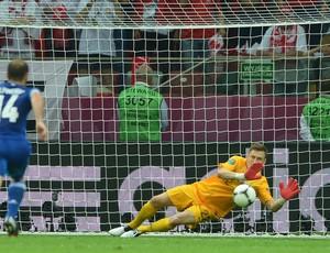 Tyton polonia x grecia eurocopa (Foto: AFP)
