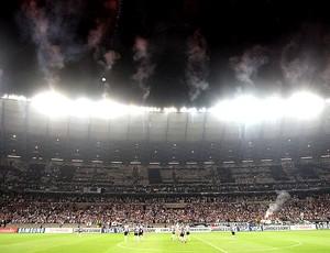 torcida Atlético-MG mosaico final Libertadores (Foto: EFE)