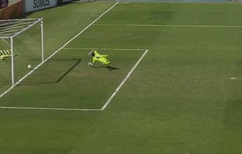 Analisador tático mostra que chute de Maycon ultrapassa linha do gol do Inter