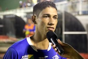 Eduardo atacante do Atlético-AC (Foto: João Paulo Maia)