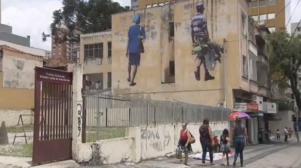 'Painel RPC' de sábado (28) falou, também, sobre arte de rua (Foto: Reprodução/RPC)
