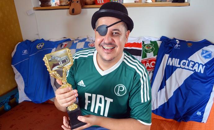 Tapa Olho Experimental (Foto: Danilo Sardinha/GloboEsporte.com)