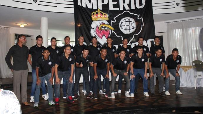 Rio Negro apresntou elenco que disputará Série A do Campeonato Amazonense em 2015 (Foto: Gabriel Mansur)