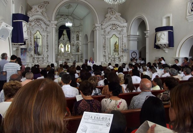 Missa Nísia Floresta (Foto: Fernanda Zauli/G1)