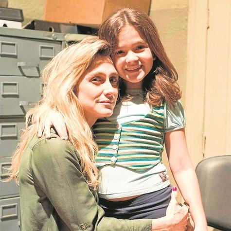 Amora Mautner e Mel Maia (Foto: Ellen Soares/TV Globo)
