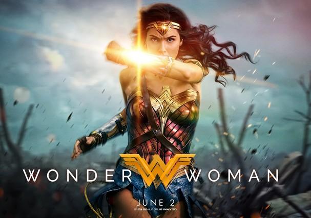 Wonder Woman (Mulher Maravilha) fez sua estreia no dia 2 de junho (Foto: Divulgação)