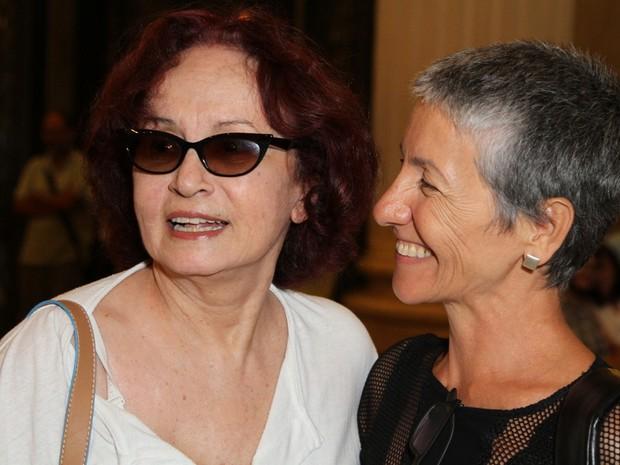 Joana Fomm e Cássia Kis Magro (Foto: Anderson Borde / AgNews)