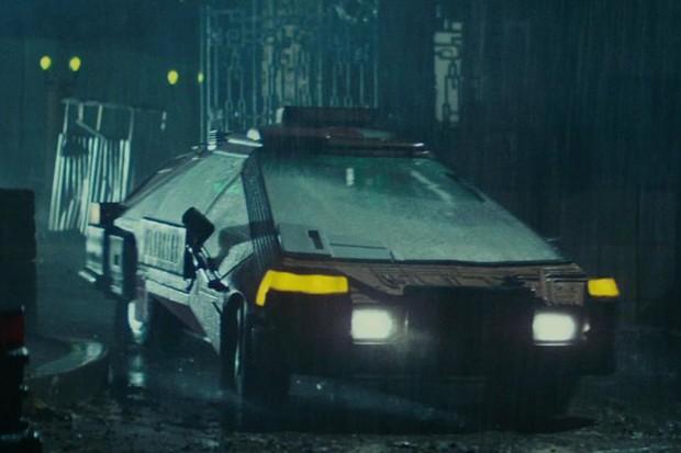 Outros carros foram criados sob encomenda para o filme Blade Runner (Foto: Divulgação)